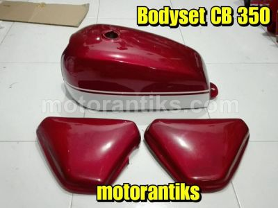 Bodyset CB 350 red